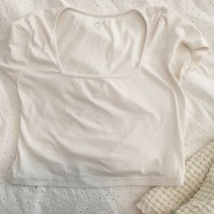 Brandy melville square neck top